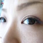 まつげエクステリペア後(2013.6.4)開眼